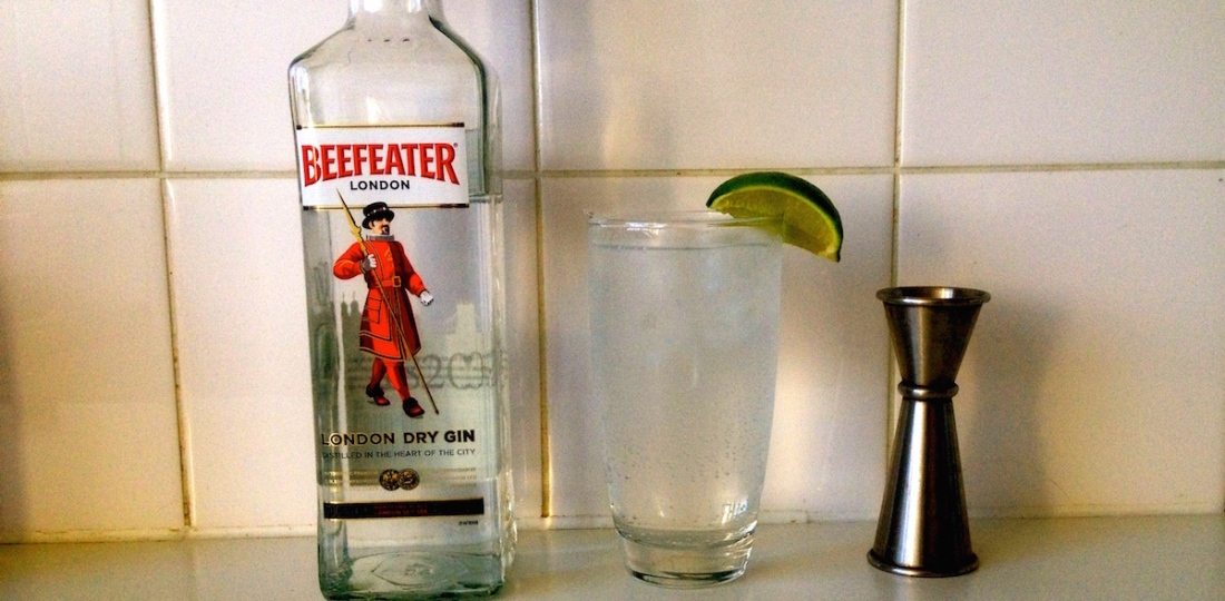 Beefeater gin   Perfect gin and tonic